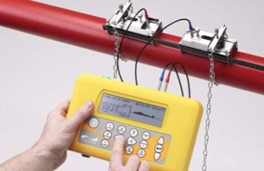 PF330 Portable Ultrasonic Clamp On Flow Meter